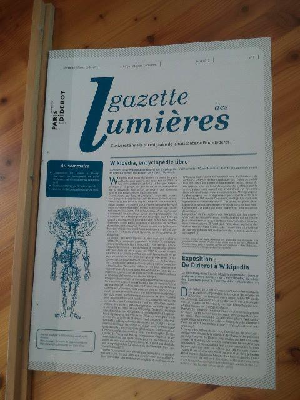 La gazette des Lumières / avril – septembre