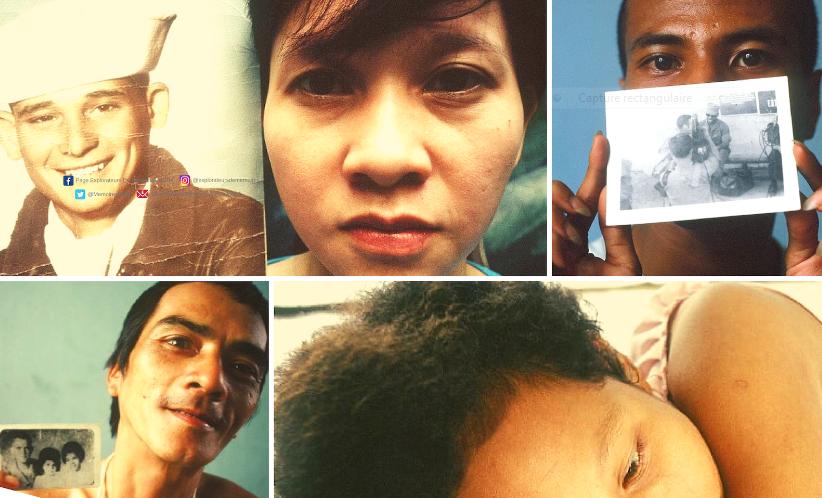 Amérasiens, honteux de vivre : les enfants métis de la guerre du Vietnam